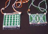 Two Xhosa (MFengu) beaded courtship panels, ex-Bruno Walter Collection.