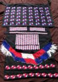 Complete Tonga beaded ceremonial dress for a woman of status (7 pieces).