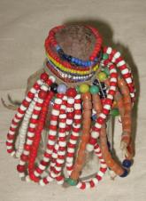 1950s Beaded fertility doll,Turkana people, Kenya
